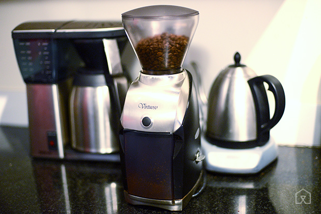 Gifting a coffee grinder